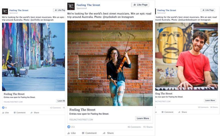 Creating a Facebook campaign around user-generated content, Toyota featured some necessary authenticity in their ads.