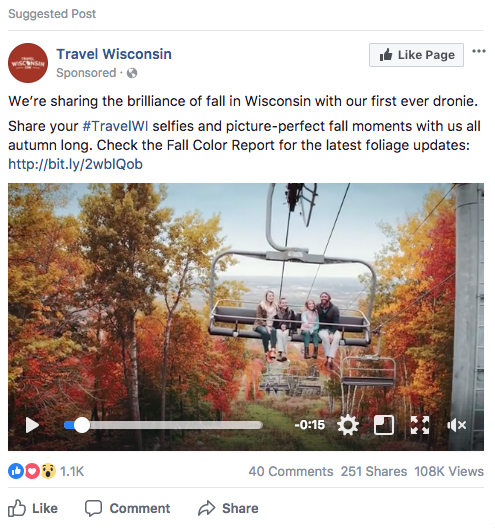 visit wisconsin ad example