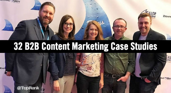 B2B Content Marketing Case Studies