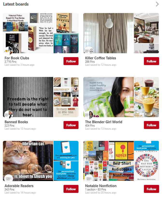 Having a diverse content material strategy is beneficial when running a Pinterest for business