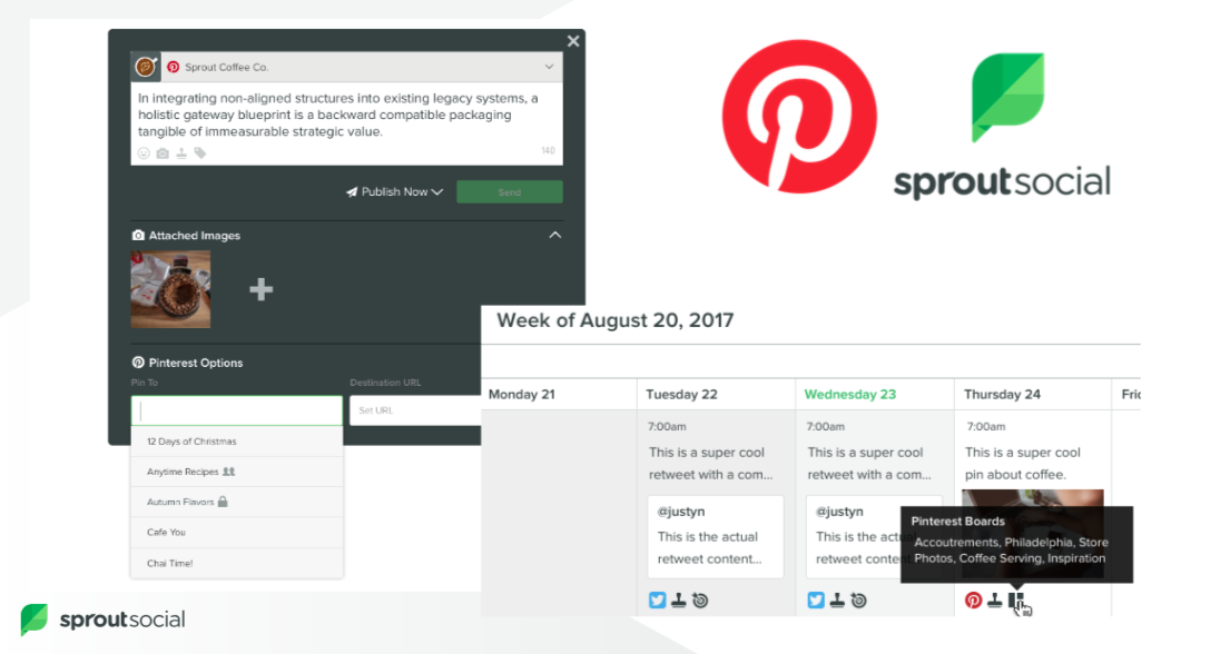 Pinterest scheduling can help manufacturers plan out their content calendar