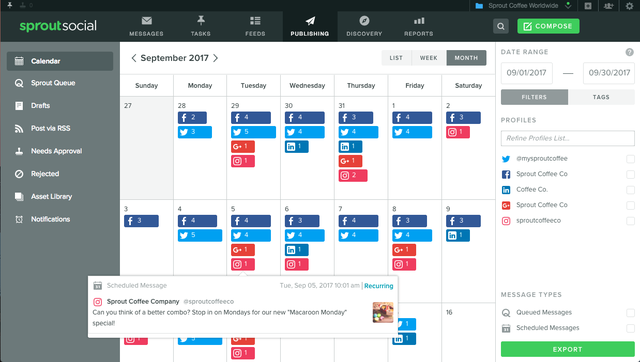 Having a content calendar can assist you fine-tune your Pinterest posting strategy