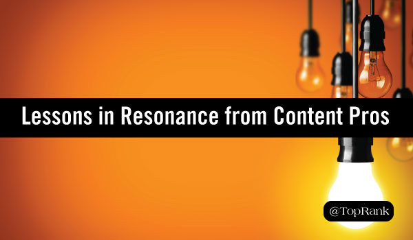 Lessons in Content material Marketing