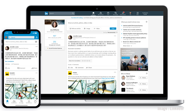 LinkedIn Adds Translation Services In More than 60 Languages