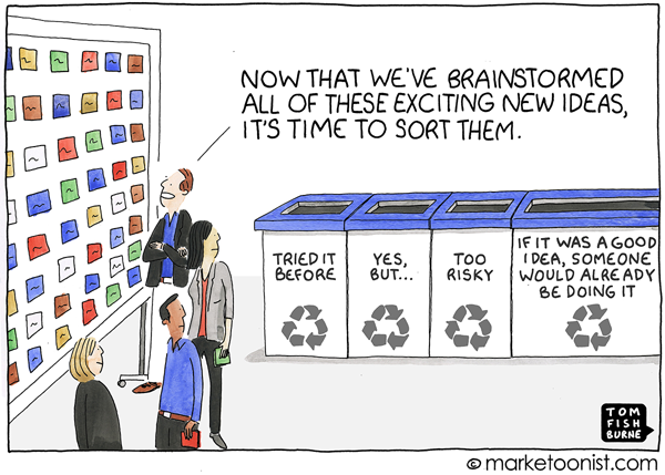 Marketoonist Tom Fishburne Come july 1st 13 Cartoon