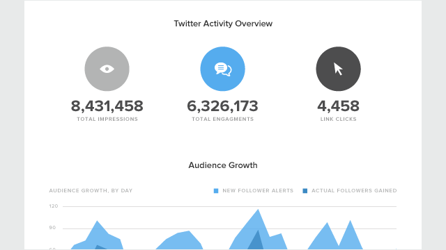 Having a dedicated analytics alternative makes wrangling your social media information much, much easier