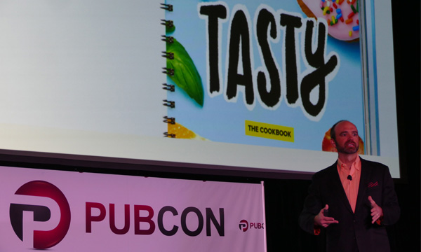 Joe Pulizzi from Pubcon 2018 Photo by Street R. Ellis