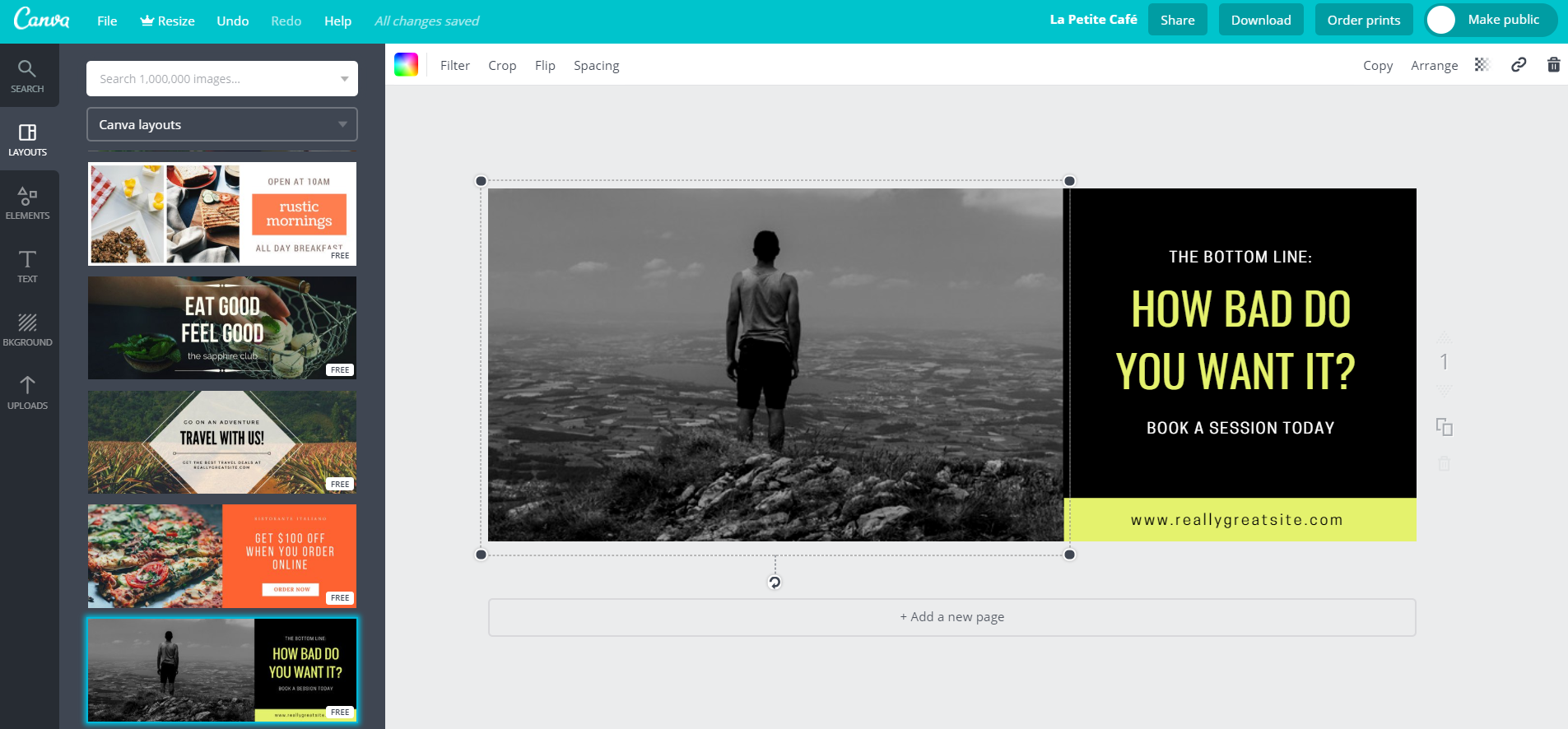Tools like Canva allow you to whip up optimized social pictures in no time flat