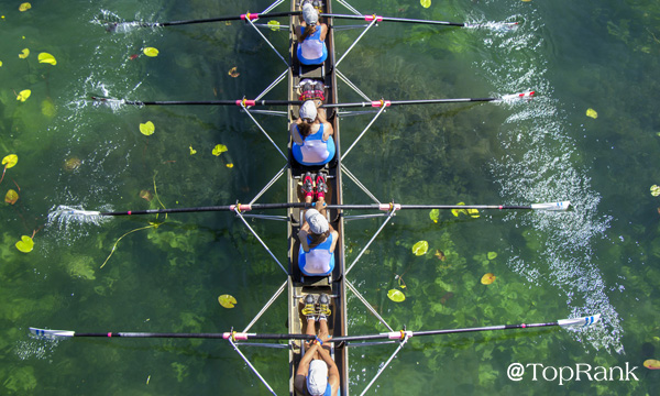 Women's rowing team picture.