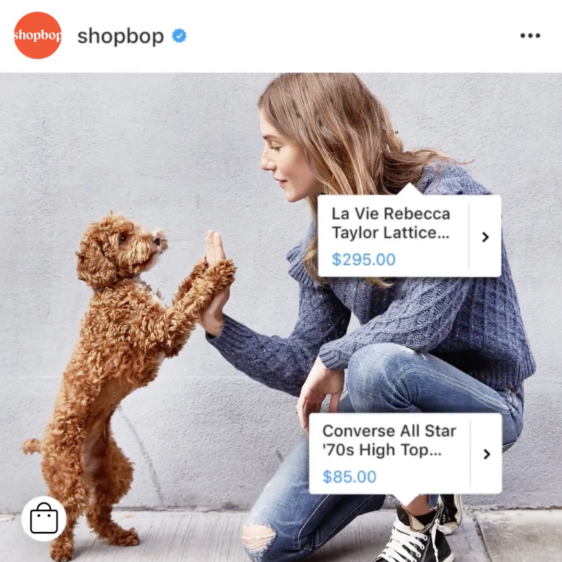 instagram shoppable