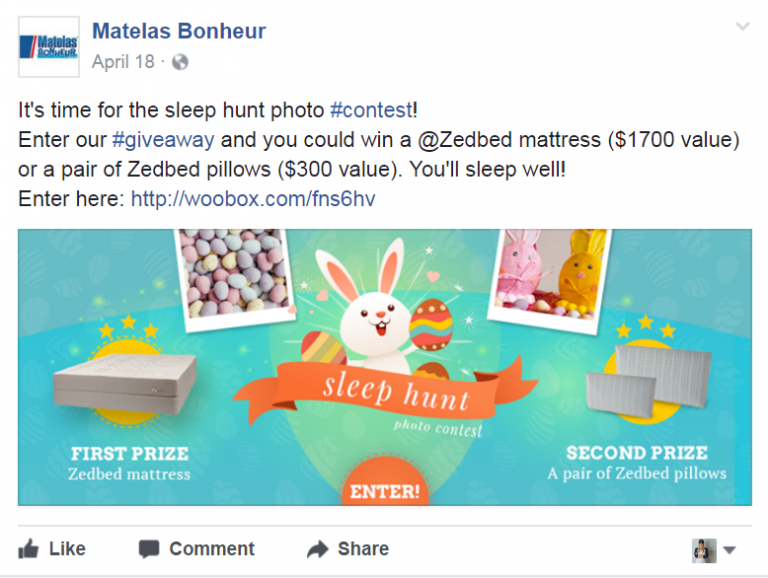 example of the social contest