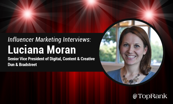 Influencer Marketing Job interview with Luciana Moran