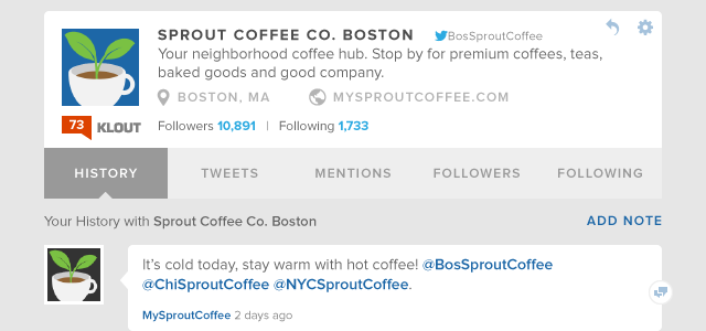 Sprout Twitter History Enhancements