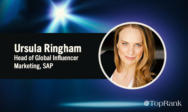 Influencer Marketing and advertising Interview Ursula Ringham