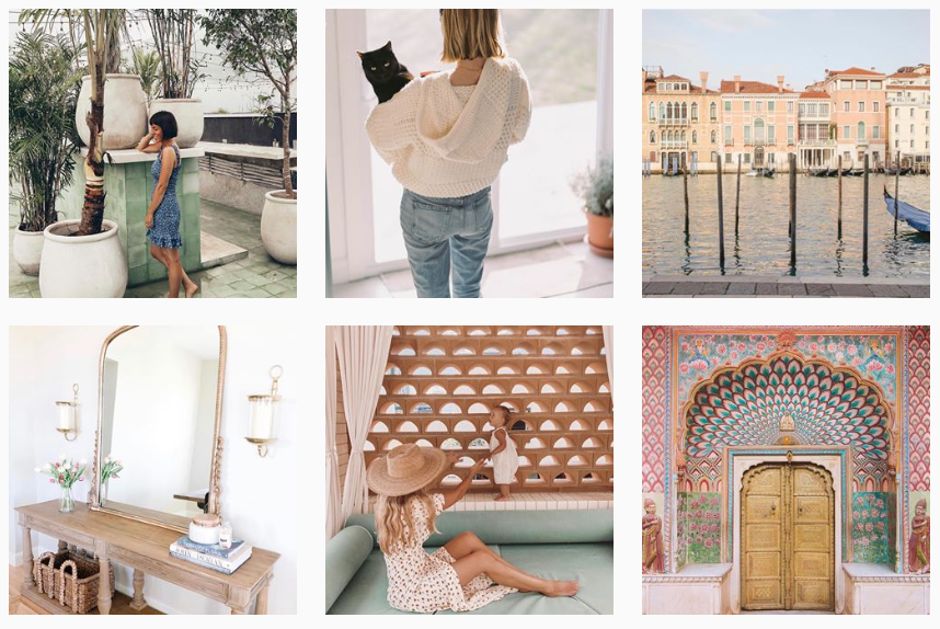 Anthropologie content theme