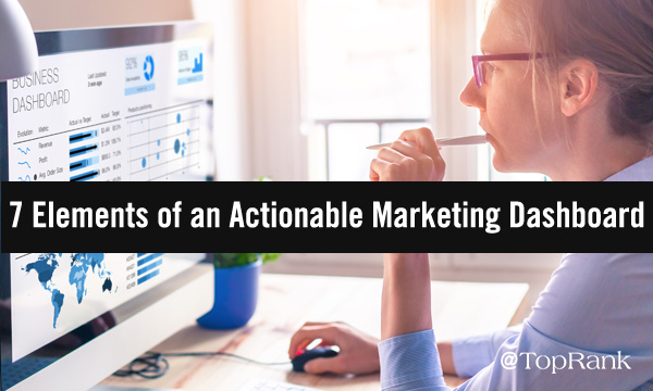 Elements of an Actionable Content Marketing and advertising Dashboard