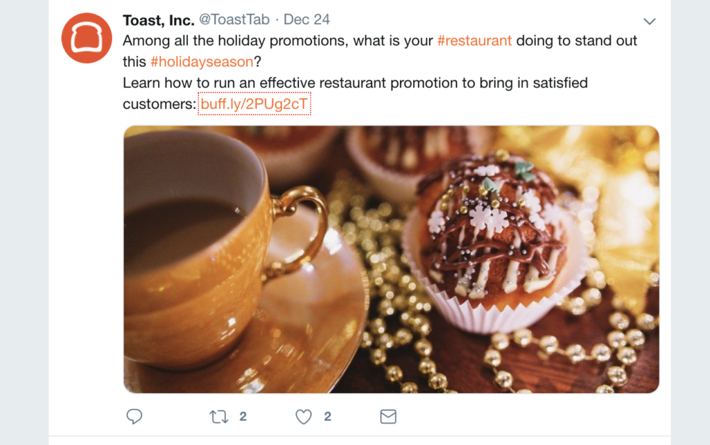 toast, inc provides content plus resources that are beneficial to its target audience of restaurant operators