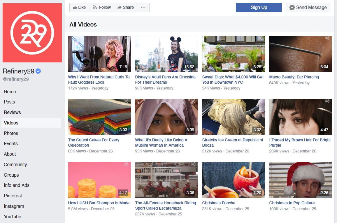 Facebook notes that video clip content is among the top-performing on the system versus text and image-based posts