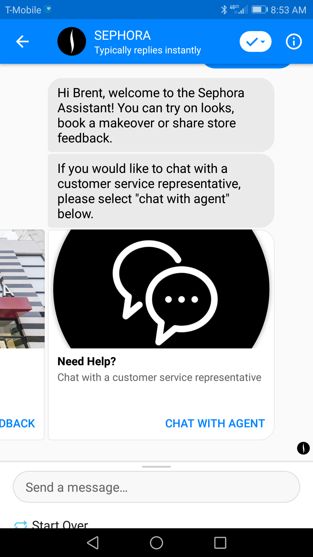 Chatbots are becoming significantly common to handle customer concerns within an instant