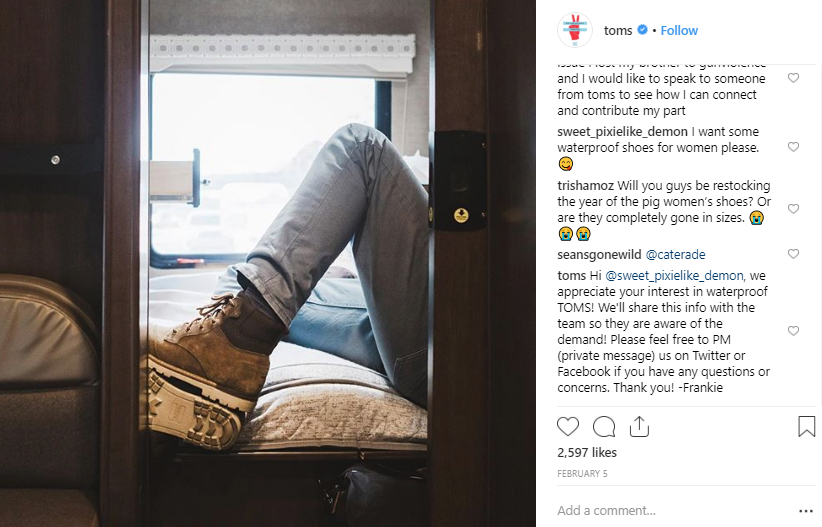Instagram is a superb channel for customer service which makes hearing even more important