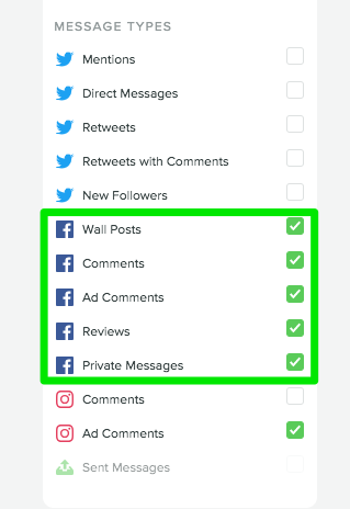 set up fb monitoring in sprout to start discovering what customers are saying