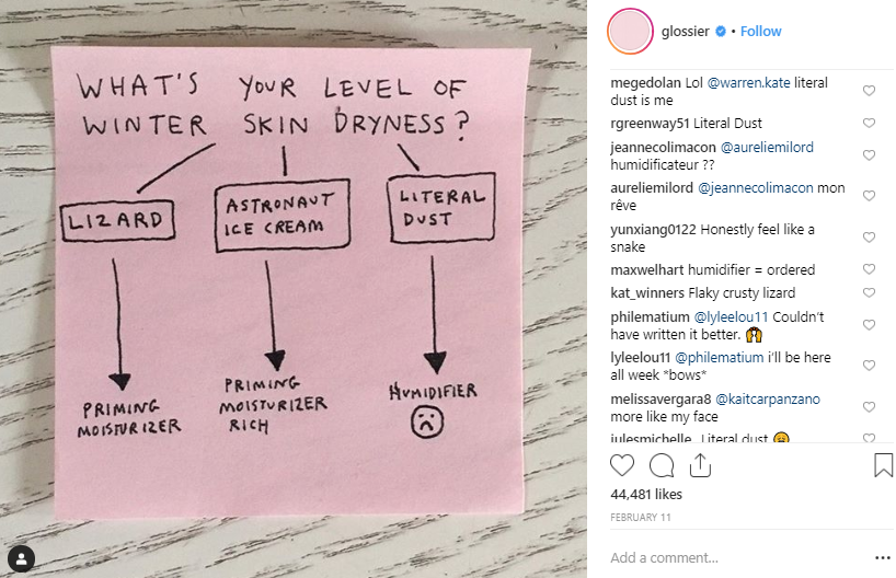 Listening to Instagram conversations is great for both competitive evaluation and improving your own products