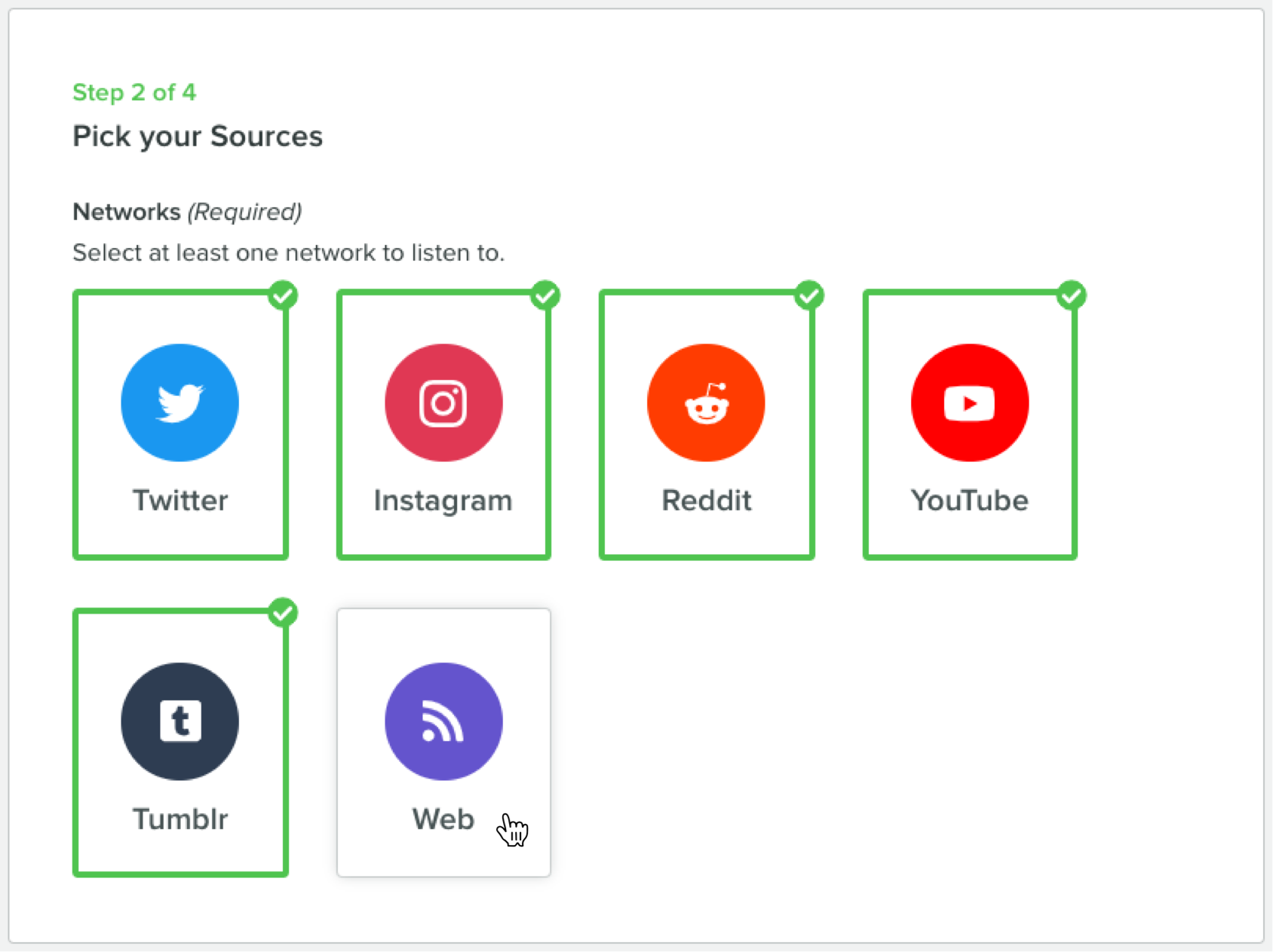 sprout social hearing networks