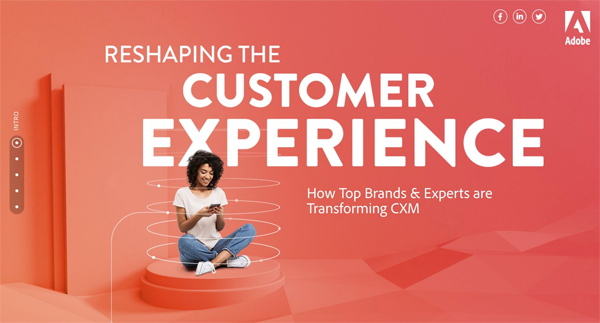 Adobe Reshaping The Customer Encounter image.