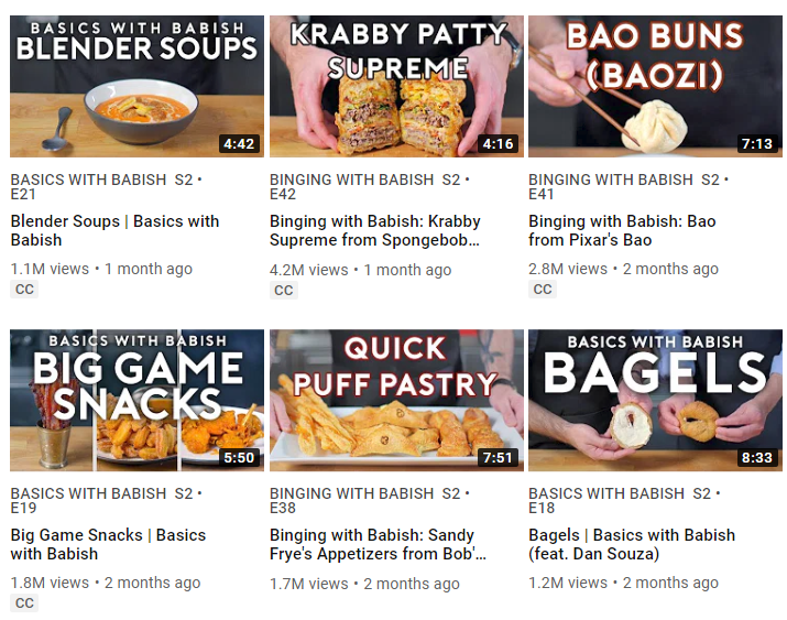 Enticing thumbnails and game titles give your videos better talk about factor