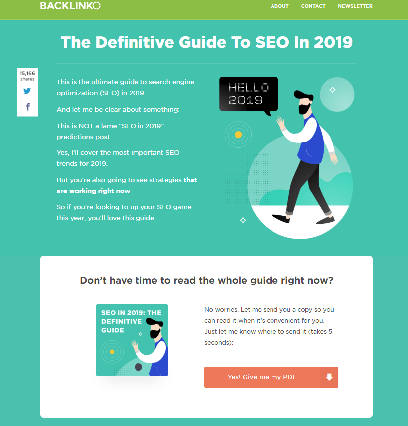 Backlinko's Defined Guide to SEO