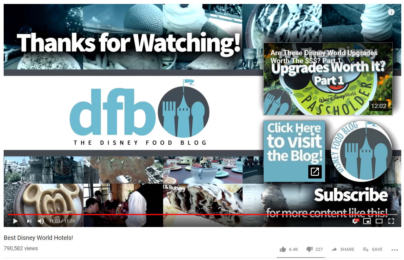 Calls-to-action help encourage viewers to watch a lot more content