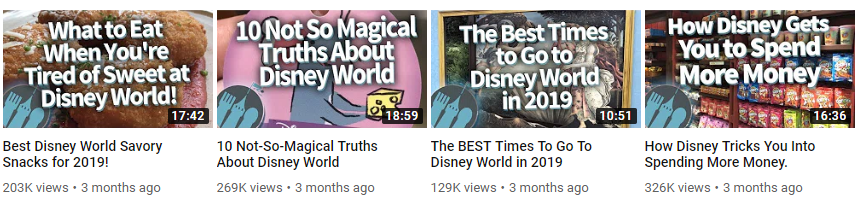 """Listicles and """"best of"""" videos traditionally perform well upon YouTube"""