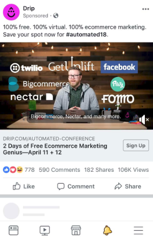 Facebook ads need compelling calls-to-action