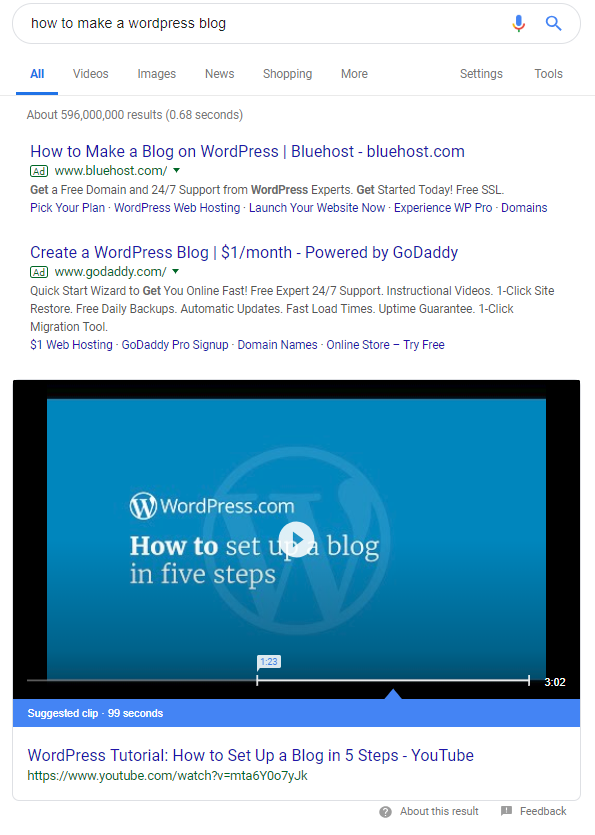 How-to plus tutorial-based content does well online searches