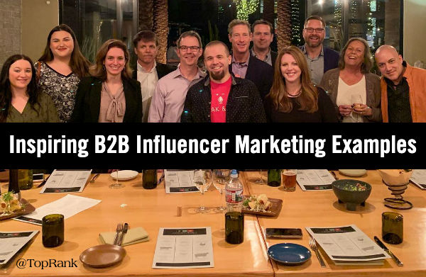 B2B Influencer Marketing Examples