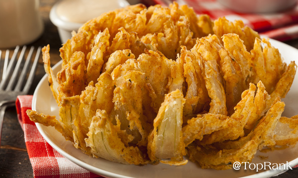 Blooming onion image.