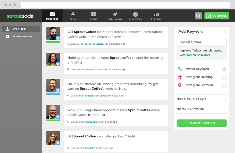 sprout social smart inbox
