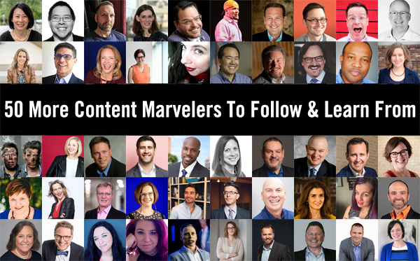 50 Content Marvelers Image