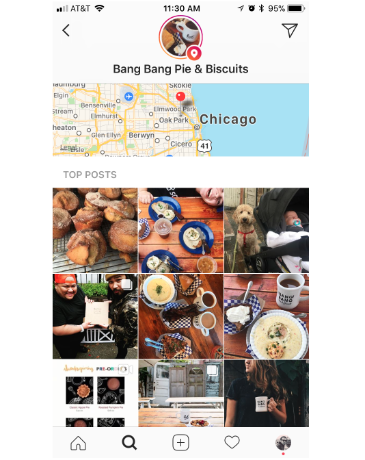 Geotagging is a great way for local brands to get noticed
