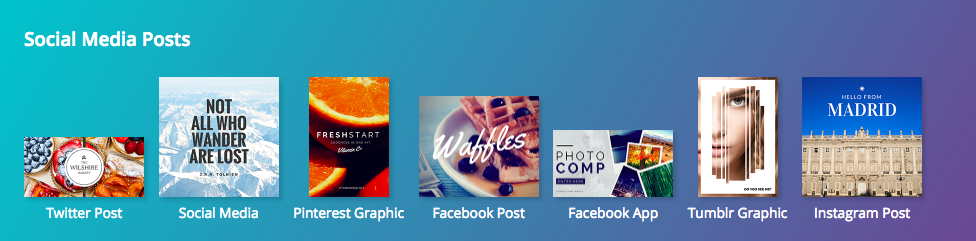 Canva Social Media Image Sizes