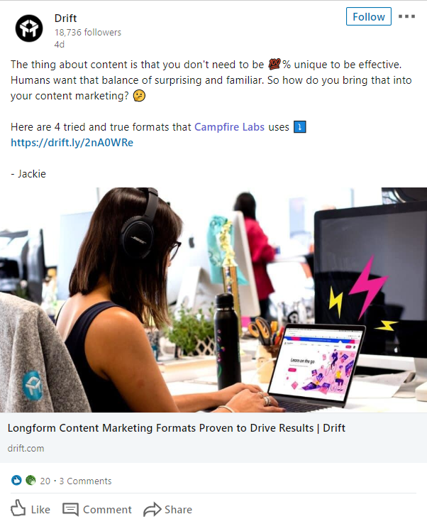 LinkedIn is a prime platform for professionals to flex their influence