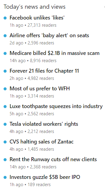 Trending Stories can help clue you in on topics the LinkedIn algorithm is currently favoring