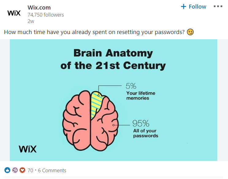 Humorous content is becoming ore common on LinkedIn