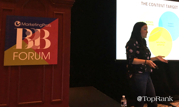 Ashley Zeckman Presenting at MPB2B 2019