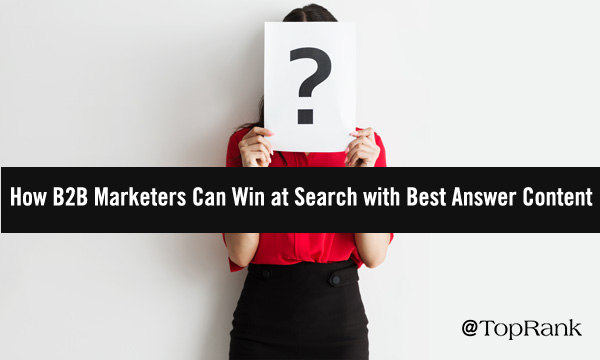 Winning Search with Best Answer Content