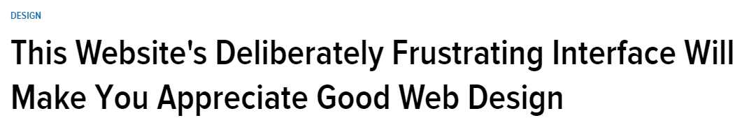 long-form headline writing example from Gizmodo